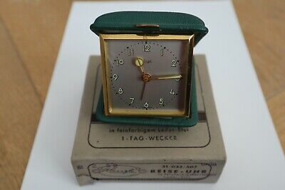 Keinzle Vintage travel alarm clock- working with box