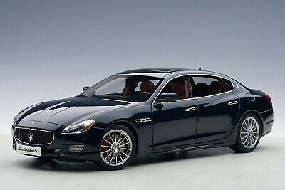 Maserati Quattroporte GTS Rassion Blue Autoart 1/18 Scale AA 75807