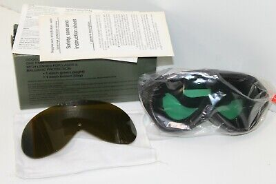 US Army Sun Wind And Dust Goggles w/ Laser and Ballistic Protection (Sun Protection Goggles)