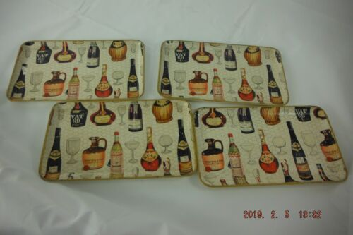 Vintage Cocktail Trays Barware Collectibles