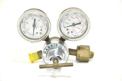 Harris 1-100b Compressed Gas Regulator. Oxygen 540 Cga