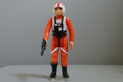 Vintage Star Wars LUKE SKYWALKER (X-WING PILOT) 1978 C9 NO COO ORIGINAL BLASTER