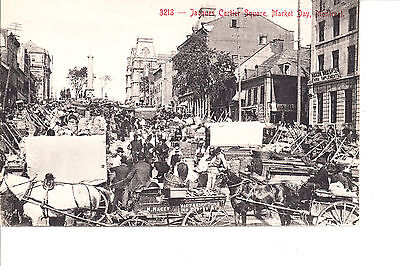 Montreal  Quebec  Jacques Cartier Square   Market Day    1907 10
