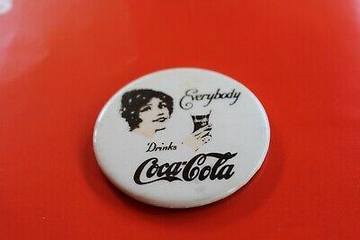 Vintage Coca-Cola Round Pocket Mirror