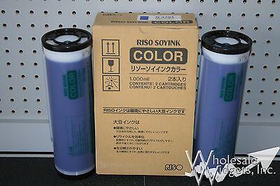 Risograph S4394 Gr1700 2-sd Yld Med Blue Ink