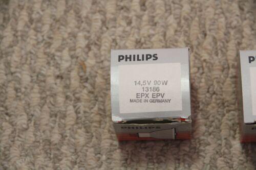 14.5V 90W EPV EPX MR16 GX5.3 13186 Halogen Dental Light Bulb Philips NEW Germany