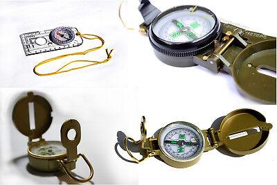 Kompass Transparent Oliv Armee Karten Marsch