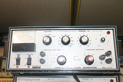 Heath Schlumberger Sg-5218 Sine-square Audio Generator