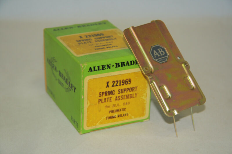 Allen Bradley X-221969 Spring Support Plate Assembly for BUL 849 Timing Relays