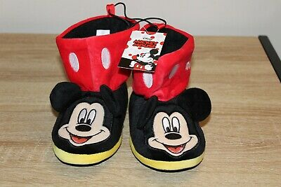 Boys Bootie Slippers (NEW Toddler Boys' Mickey Mouse Bootie)