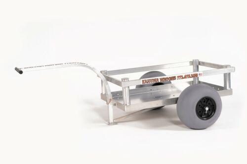 Bimini Beach Wagon-Four Rod Holders-No-Rust-Sand Tires- Aluminum-Made In USA!!