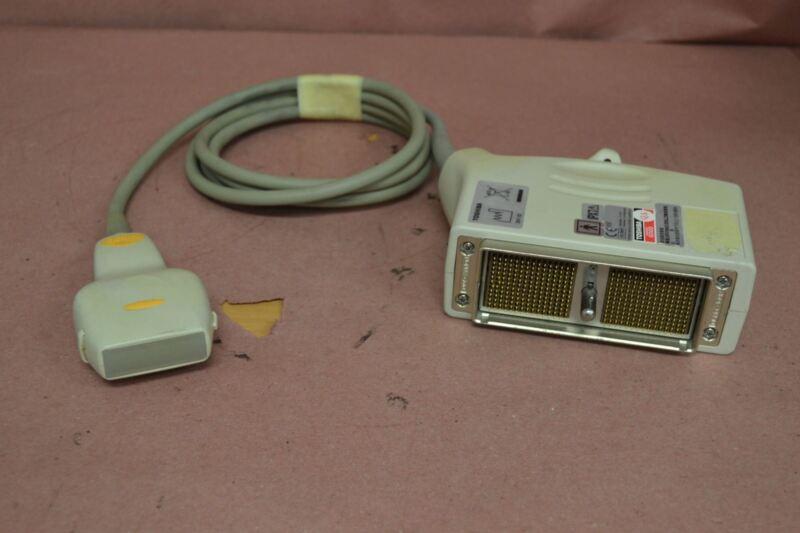 Toshiba Xario PLT-604AT 9.2-4MHz Linear Ultrasound Transducer Probe