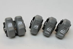 93-02 Firebird/Trans Am Power Window & Lock Switches Set New GM