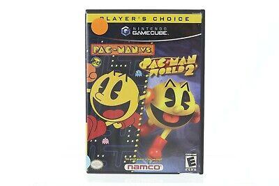 Pac-Man vs./Pac-Man World 2 (Nintendo GameCube, 2003) TESTED Complete