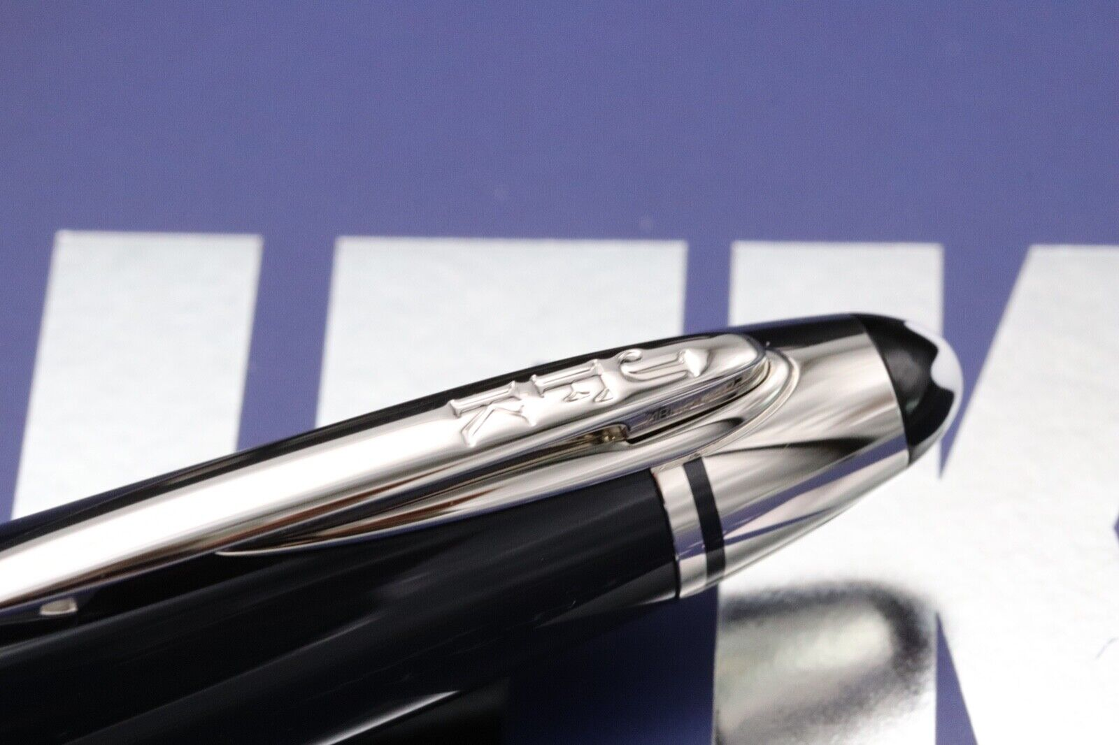 Montblanc Great Characters JFK Blue Special Edition Ballpoint Pen 4