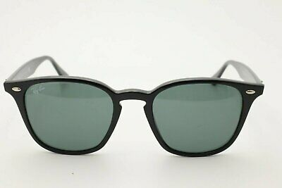 Ray Ban RB 4258 Unisex Sunglasses 601/71 Black / Green Lenses (Ray Ban 4258)