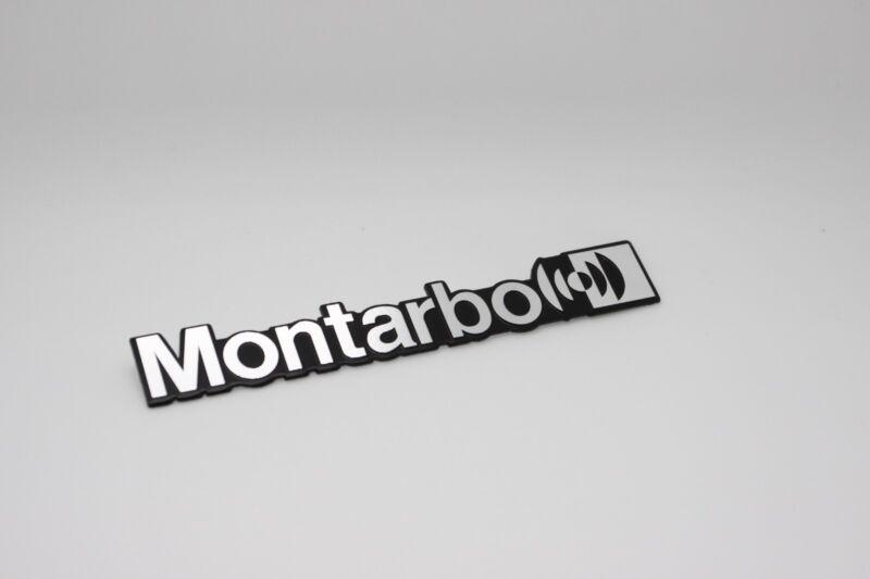 For Replacement Montarbo Aluminium Logo Badge