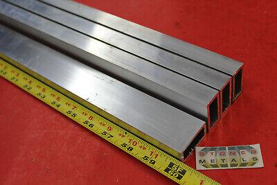4 Pieces 34x 1-12x 18 Wall Aluminum Rectangle Tube 60 Long 6063 T52