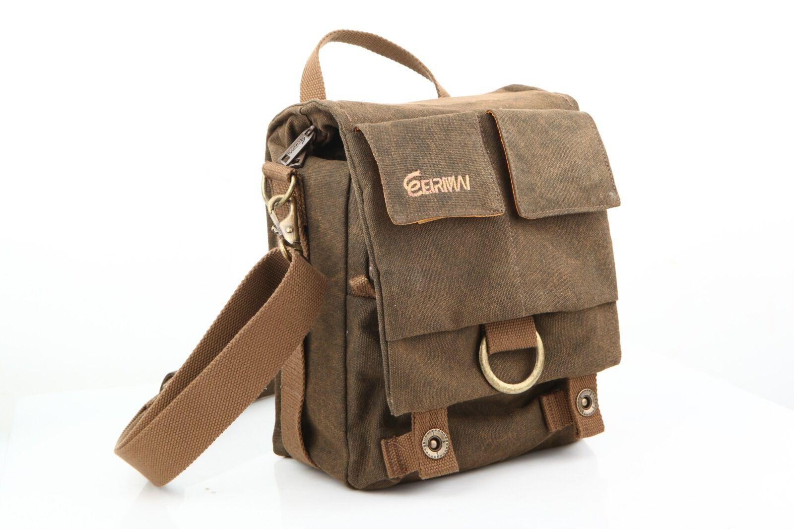 Camera Bag Vintage fashionable Shoulder Messenger Bag Canvas