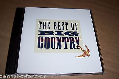 Big Country CD The Best Of 17 Tracks Look Away One Great Thing (Best Music Teachers)
