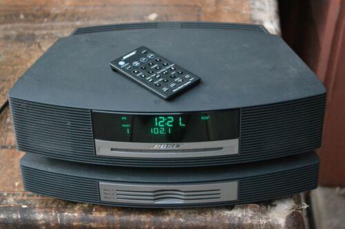 BOSE WAVE RADIO CD AM/FM MULTI DISC CD CHANGER W/REMOTE AWRCC1  Please Read