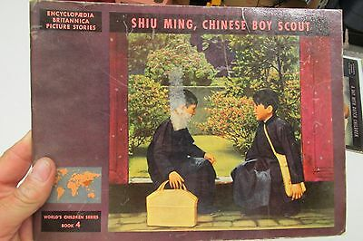1947 WORLD'S CHILDREN SERIES ENCYCLOPEDIA BRITANNICA ON SHIU MING CHINESE BOY
