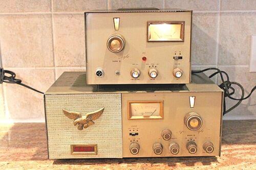 Vintage BROWNING GOLDEN EAGLE MARK II 2 CB RADIO & Transmitter Powers up