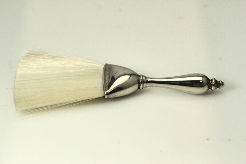 Very Nice Webster 925 Sterling Silver Whisk/Brush 31.1 Grams (ANT3206)