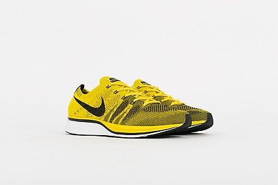 68da37ad2b7ab ... amazon nike flyknit trainer yellow citron size 9.5 deadstock supreme  yeezy 47540 15d35