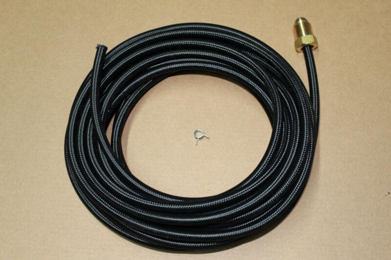 45V10R 25 Foot braided tig welding torch gas hose
