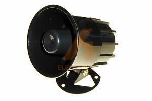 12V electronic sounder horn 118dB loud waterproof security intruder alarm siren