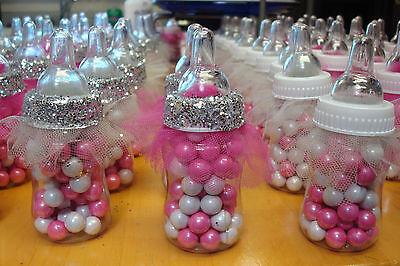 Ballerina Tutu Baby Bottle Favors for Baby Shower Handmade Shower Favors, 20 CT (Tutu Baby Shower Favors)