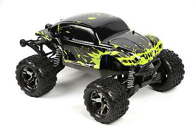 Custom Body Muddy Bug Green for Traxxas Stampede 1/10 Truck Car Shell Cover (10 Truck Body Green)