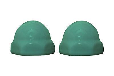 Replacement Ceramic Toilet Bolt Caps Set of 2 - Crane Pale J