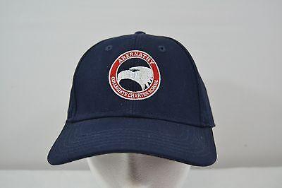 Abernathy Collegiate Charter School Blue Baseball Cap Adjustable Back