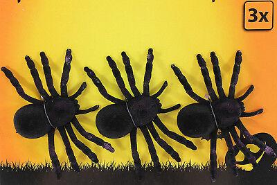 NE SCHWARZE HORROR SPINNEN HALLOWEEN DEKORATION NEUE (Spinnen Halloween-dekoration)