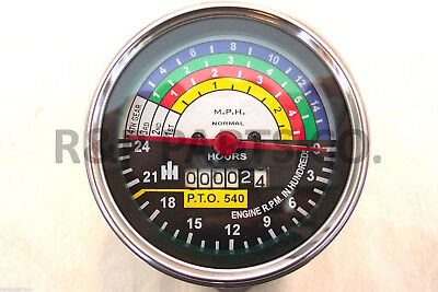 Tachometer For International Ih 404 Utility 383088r91