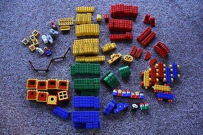Large Set Lego Duplo Building Blocks - Some Vintage Circus - 220 pieces