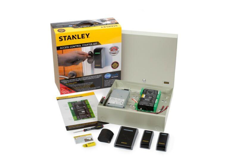 STANLEY PAC 2-DOOR ACCESS CONTROL STARTER KIT W/ 2x MULLION READERS 7S-ACSTART
