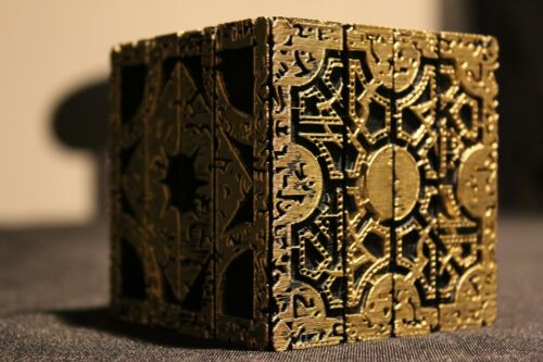 Hellraiser Cube Puzzle Box Lament Configuration  Functional Pinhead Prop Horror