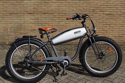 e-Bike Retro, Beach Cruiser, Pedelec, FAT-Bike, Elektrofahrrad im Motorrad-Style Beach Cruiser Bikes