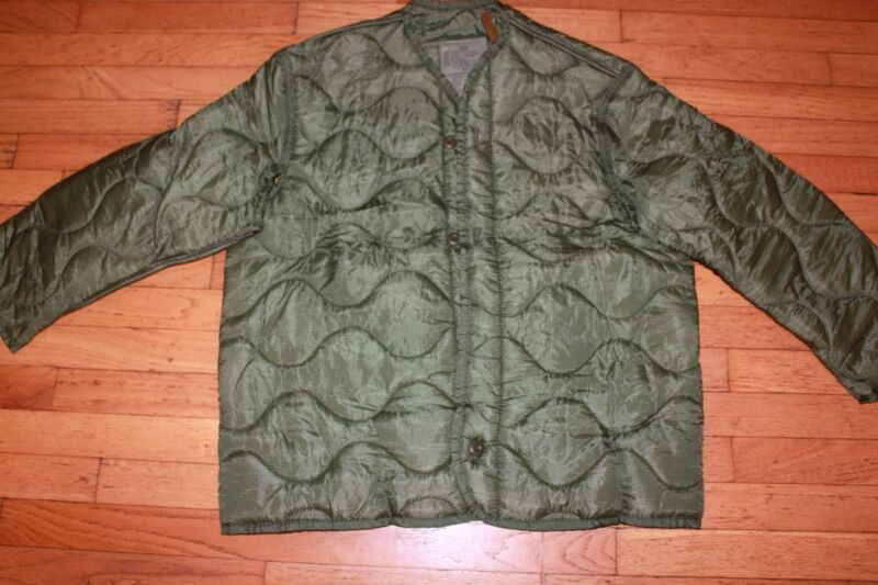 Military Surplus, Army, Cold Weather Coat Liner,Lg,New
