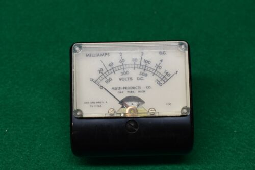 Multi-Products Inc Model 240-09231 RevA  DC Micro-Amp Meter Working