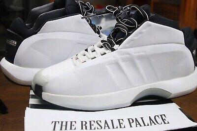 Adidas Crazy 1 Kobe White Black  Size 8 Stormtrooper 97 98 Kobe 2