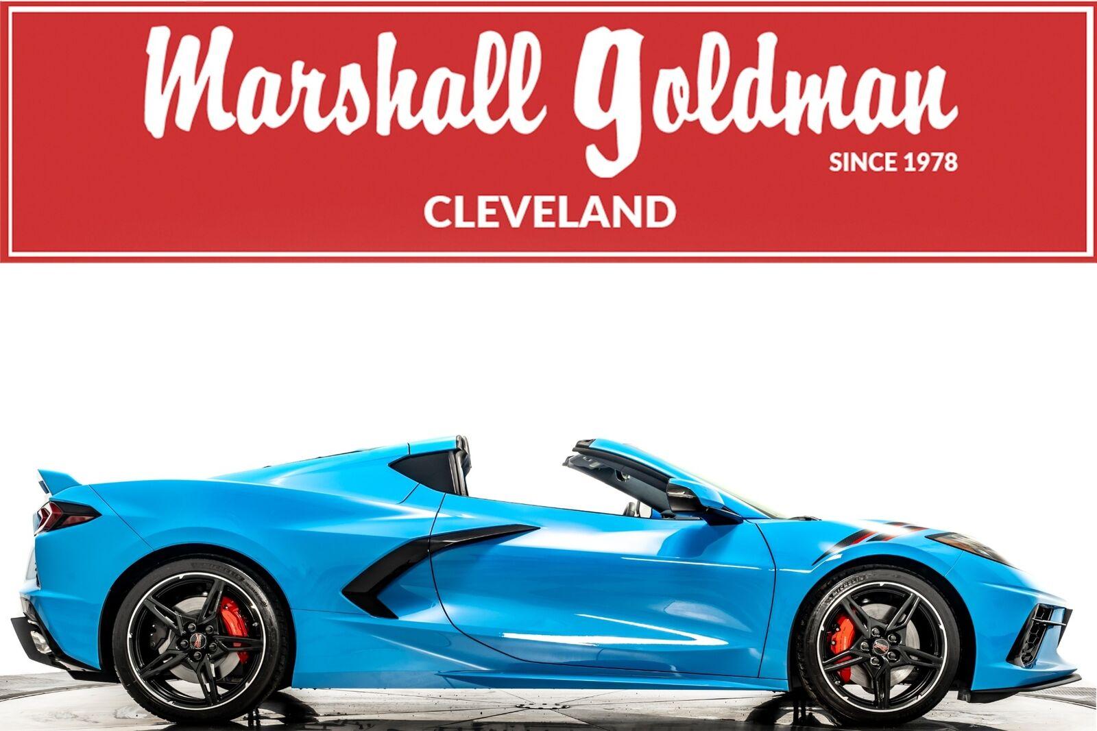 2021 Blue Chevrolet Corvette  3LT   C7 Corvette Photo 1