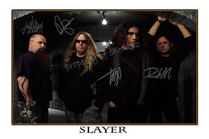 SLAYER-AUTOGRAPHED-SIGNED-POSTER-GREAT-PIECE-OF-MEMORABILIA