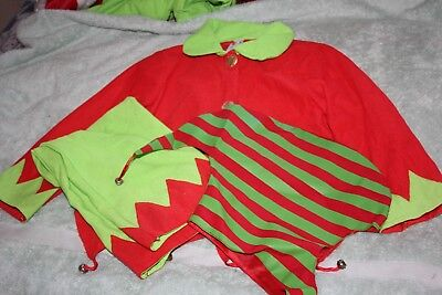 BHS elf dressing up outfit 6-8 - 3 parts - Elf Dressing Up