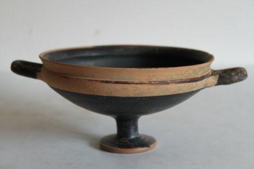 ANCIENT GREEK ELEGANT STEM  KYLIX 4th CENTURY BC WINE CUP