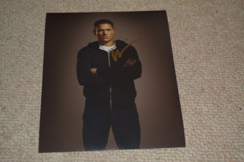 WENTWORTH MILLER signed autograph In Person 8x10 20x25 cm PRISON BREAK