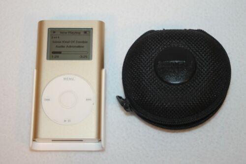 Apple iPod Mini A1051 - Year 2004 - WORKING WITH BONUS SHURE EARBUDS